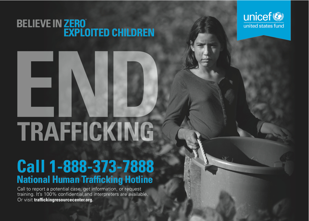 U.S. Fund for UNICEF's End Trafficking Campaign Launches ...