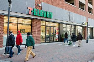 Nicholas Griner   NYBJ Staff 7-Eleven stores were raided today in N.Y. and Va., after several owners were accused of trafficking illegal workers into the United States.