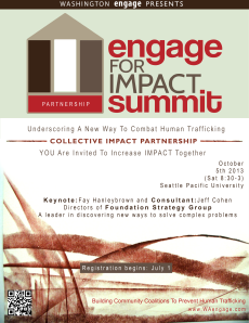 Engage for Impact Summit Poster